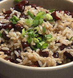 Incredible Caribbean Rice and Beans - Recipe, Ethnic Food, Quick, Easy, Side Dish, Vegetarian, Fantastic Main Dish or with Drumsticks, Full of Flavor
