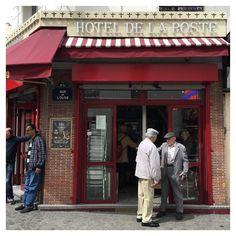 Hotel de la poste #bar #Paris #elderly #hangout #cafe by gregorydeharlez