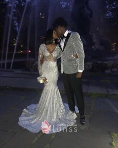 Silver Gray Long Sleeves Prom Dresses Mermaid Sexy See Through Party Gowns For Black Girls V Neck Lace Appliques Long Evening Dress 2019 sold by newwedding on Storenvy Black Girl Prom Dresses, Senior Prom Dresses, Cute Prom Dresses, Prom Dresses Long With Sleeves, Prom Outfits, Wedding Dresses, Silver Long Sleeve Dress, Long Dresses, Formal Dresses