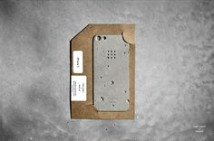 Concrete iPhone cover, by Posh Projects.