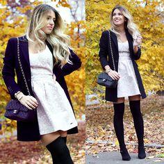 Abercrombie & Fitch Dress, Chanel, Laltramoda Blazer
