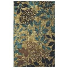 Mohawk Mystic Garden Multi 8 ft. x 10 ft. Area Rug-360153 at The Home Depot