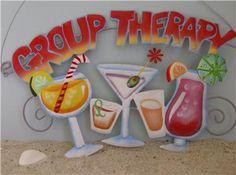 margaritaville sings | Group Therapy Drink Sign Margaritaville NEW Tiki BAR | eBay