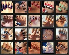 Video gamer nails