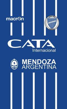 Godoy Cruz of Mendoza, Argentina wallpaper. Soccer Kits, Football Wallpaper, Mendoza, Football Players, Team Logo, T Shirt, Wallpapers, America, Football Gear