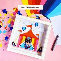 We have a winner! Congratulations to Megan Potter who will receive this handmade Momiji picture created by Helena. We'll be sending you an email about your very special prize today. Thank you to everyone who entered. #momiji #momijidolls #kawaii #paper #paperart #prize #winner #kawaiicrafts #crafting #magique #magic #rainbow by momijihq