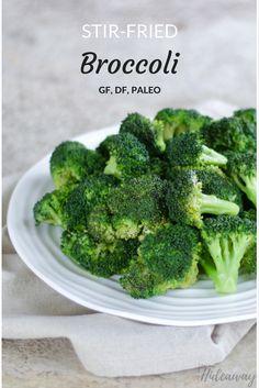 Paleo Stir-Fried Broccoli FromOurHideaway.com