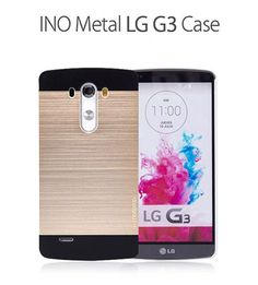 Motomo INO Metal Premium Brushed Aluminum Case for LG G3