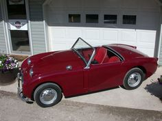 The most recent completed restoration...a Bugeye, finished in July 2013