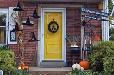 Halloween Witch Porch
