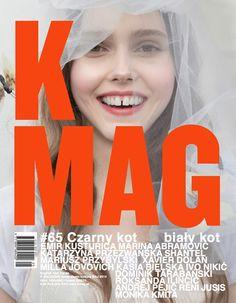 Justyna Faszcza on the cover K Mag, May 2014 Photographers: Kasia Bielska & Dominik Tarabanski