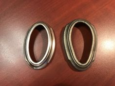 Original and reproduced printed fused deposition gauge bezel Napkin Rings, 3d Printing, The Originals, Printed, Impression 3d, Prints, Napkin Holders