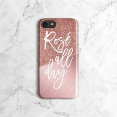 Rose Gold Texture Blocks Rose All Day Phone Case for iPhone iPhone 7 Plus, iPhone X, iPhone XS Max, Samsung Galaxy Plus Birthday Gifts For Sister, Best Birthday Gifts, Sister Gifts, Iphone 7 Plus, Iphone 8, Iphone Cases, Apple Iphone, Rose Gold Texture, S5 Mini