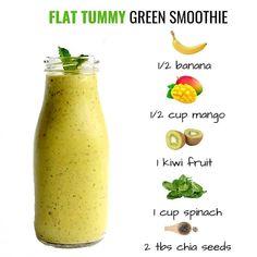 Healthy Juice Recipes, Detox Smoothie Recipes, Easy Smoothies, Healthy Detox, Healthy Juices, Smoothie Diet, Healthy Drinks, Detox Smoothies, Recipes For Smoothies