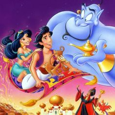 Disney Trivia Time! What was Aladdin's last wish? A.) To be a Prince B.) To be an all-powerful Genie C.) To wish the Genie free D.) To visit Disney World