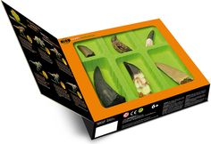 Dinosaur Teeth Collection and over 7,500 other quality toys at Fat Brain Toys. Six museum-quality replicas of real dinosaur teeth send young imaginations reeling with excitement. Get ready for an experience millions of years in the making with the Dino Teeth Collection.