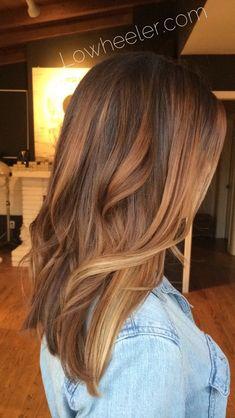 Carmel Balayage ombré colormelt by Lo Wheeler. Lowheeler.com Instagram @lowheeler_hairtherapy