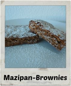 Marzipan-Brownies