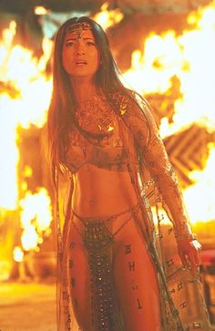 Remarkable, kelly hu scorpion king pussy were visited