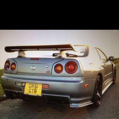 Nissan skyline R34 Gtr, Nissan Gtr Skyline, Little Red Corvette, Jdm Cars, Dream Garage, Rally, Cars Motorcycles, Dream Cars, Wheels