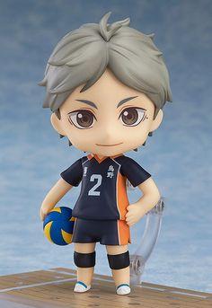 Nendoroid Haikyu!! Segunda Temporada Yu nishinoya Good Smile Company Japão Novo
