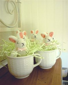 A Cup Of Bunnies