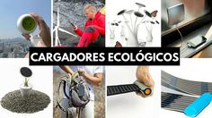 18 cargadores ecológicos para tus gadgets y aparatos electrónicos.
