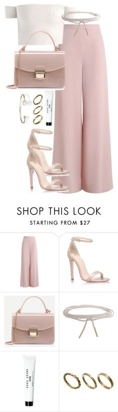"""Untitled #2583"" by theeuropeancloset ❤ liked on Polyvore featuring Zimmermann, Carvela Kurt Geiger, Humble Chic, Bobbi Brown Cosmetics, Made and Letters By Zoe"