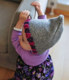 Wool knome hat tutorial from Last-Minute Adorable