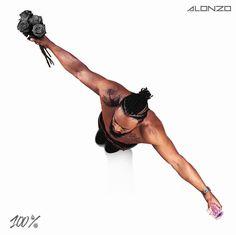 """""""100 %"""" le nouvel album d'Alonzo sera dans les bacs le 25 aout 2017   #Alonzo #100 #album"""