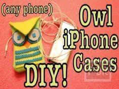 DIY: Owl Phone Case
