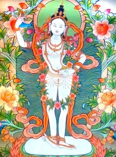 """""""Wherever there is space, five elements pervade, Wherever the five elements, the homes of living beings, Wherever living beings, karma and defilements, Wherever there is defilement, my compassion also. Wherever is the need of beings, there I am to help them.""""  ~ Dakini Yeshe Tsogyal"""
