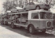 Alfa Mille truck & Alfa 33 on board