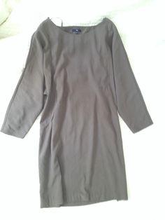 Gap Long Sleeve Short Dress Peek-a-Boo back #Swapdom