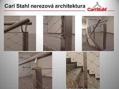 Nerezové sítě/ Nerezové sietě X-TEND, nerezová lanka/ lanká I-SYS, ozelenění/ ozelenenie GREENCABLE, membránová architektura/ architektúra ARCHTEX  www.carlstahl.cz www.carlstahl.sk
