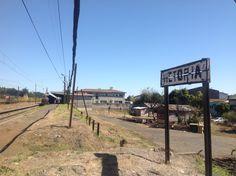 Estación Victoria. Punto kilométrico 625,5