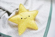 project // easy-sew star snuggler
