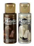 Farba akrylowa metaliczna Dazzlig Metallics DecoArt 59ml - Sklep plastyczny - szał dla plastyków