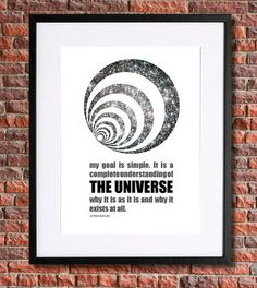 Stephen Hawking Science Art  Instant Download by pennyPRINTABLE Science Quotes, Science Art, Nerd Art, Stephen Hawking, Astronomy Posters, Printables, Elon Musk, Art Prints, Wall Art