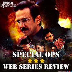Neeraj Pandey brings another espionage thriller with Hotstar's latest Special Ops. Is it worth a watch? Find out! Kay Kay Menon, Special Ops, Web Series, Thriller, Watch, Movie Posters, Image, Clock, Film Poster