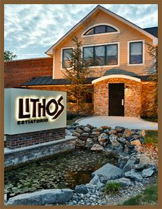 Estiatorio Lithos | Greek Restaurant - About Us Greek Restaurants, Livingston, Poultry, This Is Us, Mansions, House Styles, Food, Home Decor, Backyard Chickens