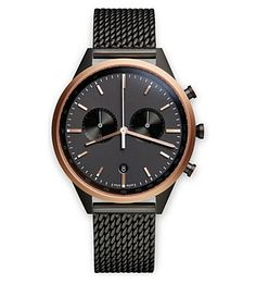 UNIFORM WARES - C41 mesh SRG-01 watch   Selfridges.com