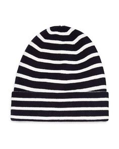 The Men's Store at Bloomingdale's Mini Stripe Hat Men - Hats, Gloves & Scarves - Bloomingdale's Hat Men, Hats For Men, Men Store, Hats Online, The Man, Nautical, Beanie, Scarves, Gloves