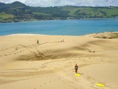 Sand Dunes, Opononi, NZ