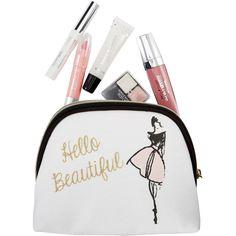 Luxury Cosmetic Bag Gift for Girls Women Hello Beautiful Accessories Makeup New #HealthandBeautyStyles