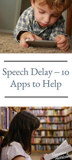 Speech Defat- 10 Apps to Help #ParentingResources #SpeechDelays #SpecialNeeds #ParentingHelp #Apps