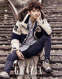 TVXQ Chang Min - Grazia Magazine December Issue... - Korean Magazine Lovers
