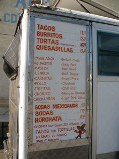 I love taco trucks. They are usually cheap and delicious. The ones I go to are…