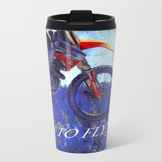 """Designed for those who have a passion for the coolest sport of Motocross racing. This Motocross rider was """"born to fly!"""". Great for Kids and Sports people of all ages. Artwork created by Val Brackenridge ©.<br/> <br/> motocross, motox, motorcycle rider, sporting events, outdoor sports, motocross rider, championship race, moto x, dirt racing, dirt racer, extreme sports, street culture, motorcross, born to fly"""