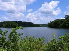 The lake at Pine Lake State Park outside of Eldora Iowa